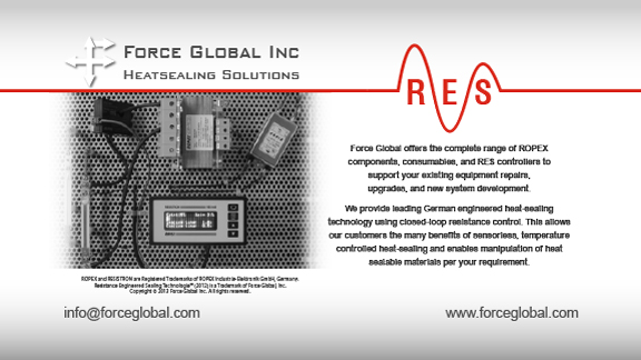 Force Global Ropex RES Heatsealing Solutions